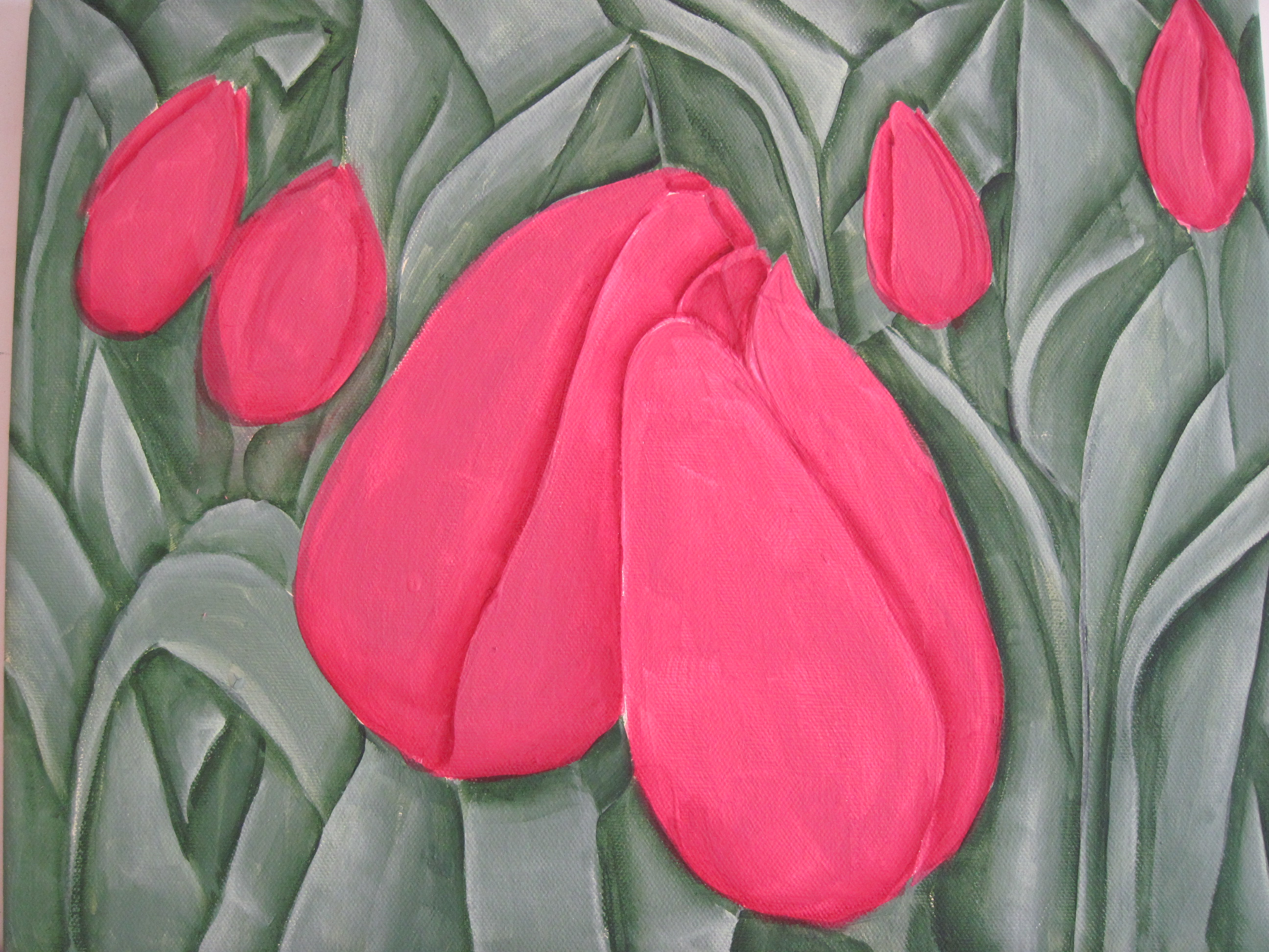 Tulips - In Progress