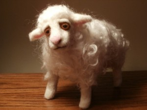 sheep by lacharmour at etsy dot com