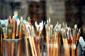 Paint brushes photo from pinterest and allthingsstylish tumblr com