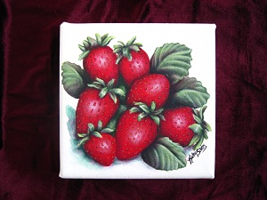Strawberries by SibStudio dot com