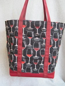 Wine Tote by SibStudioSewing