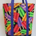 Summer Popsicle Tote by SibStudioSewing