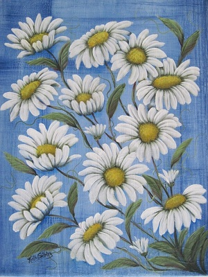 Summer Daisies by SibStudio