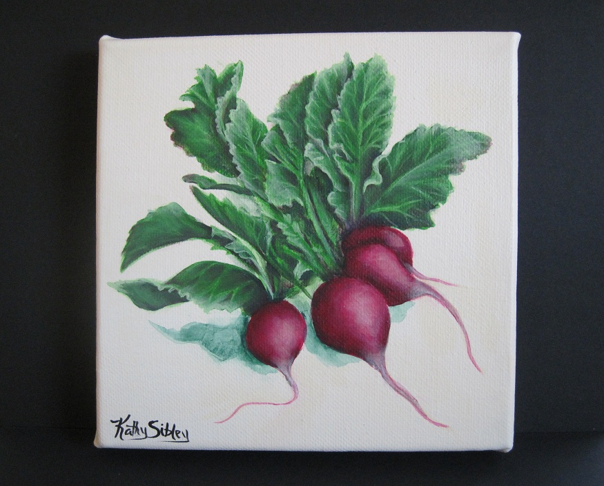 Radishes by SibStudio at Etsy.com