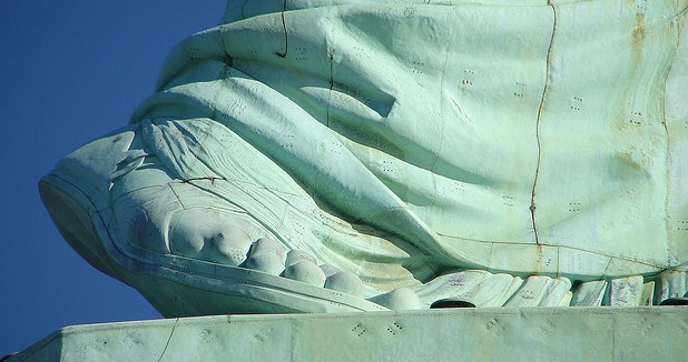 an analysis of the topic of the statue of liberty enlightening the world Sample essays and research papers on analysis of the statue of liberty liberty enlightening the world) of the world the statue represents liberty.